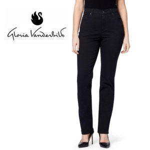 Gloria Vanderbilt Stretch Black Amanda Jeans SZ 8L